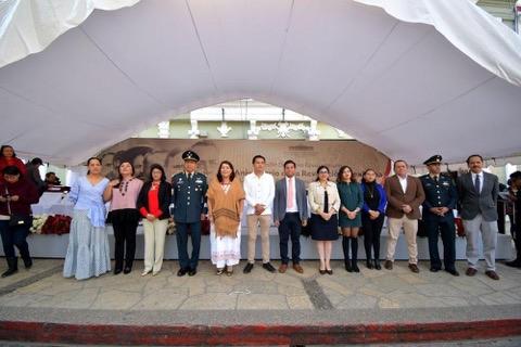 Conmemora H. Ayuntamiento de San Cristóbal el 109 Aniversario de la Revolución Mexicana